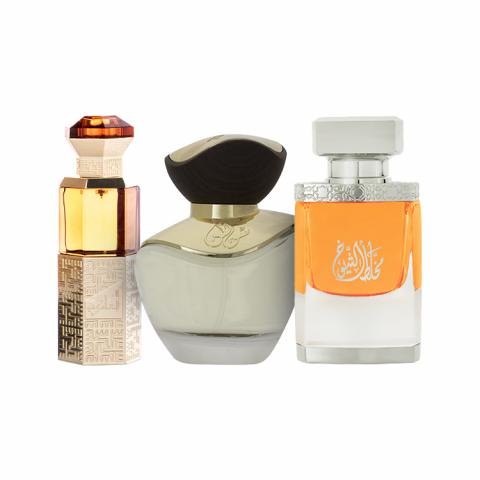 Mukhallat Al-Shiyoukh New, Al-Azariya, and Solin Perfumes Collection